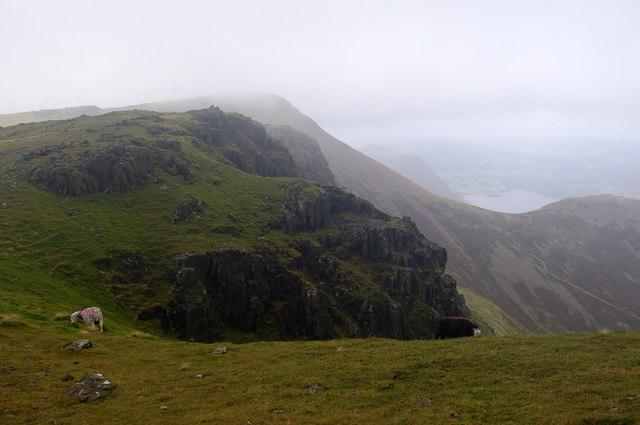 Above Chapel Crags