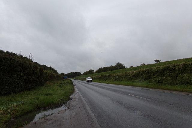 A143 at Bury St. Edmunds