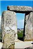 SU1242 : Stonehenge Circle by norman griffin