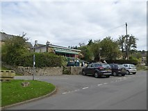 SK2572 : Baslow village shop and post office by David Smith