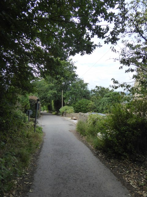 Bar Road on the edge of Baslow
