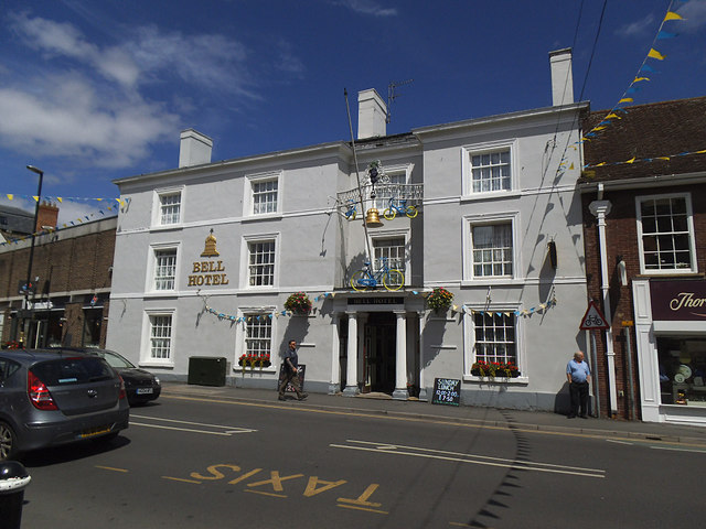 The Bell Hotel, Driffield Market Place