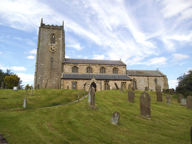 All Saints church, Nafferton