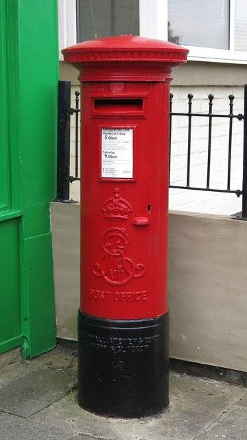 Edward VII postbox, Whitley Road