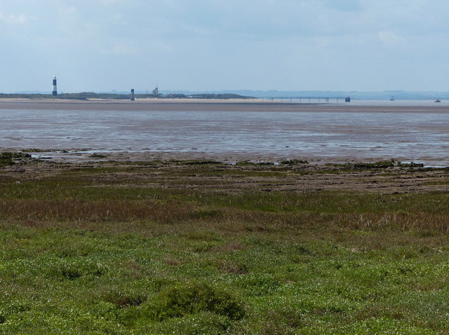 View across Kilnsea Clays to Spurn Head