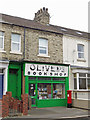 NZ3671 : Olivers Bookshop, Whitley Road by Mike Quinn