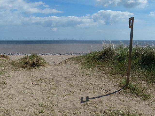 Beach and dunes at Kilnsea Warren