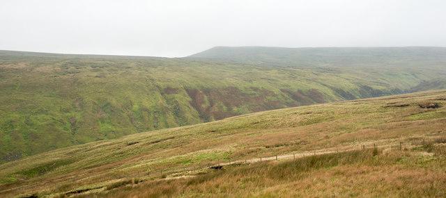 Slopes descending towards Fossdale Gill
