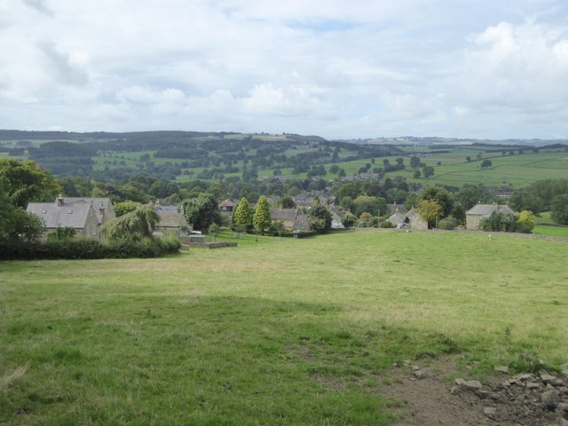 Over End, Baslow, from Bar Road