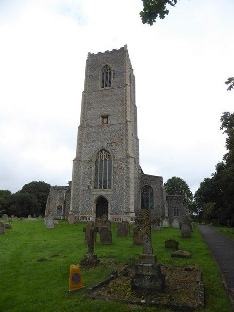 SS Peter & Paul, Carbrooke: churchyard (a)