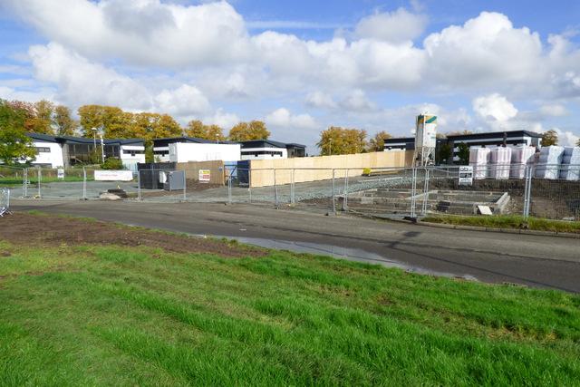 New housing development at Shortroods