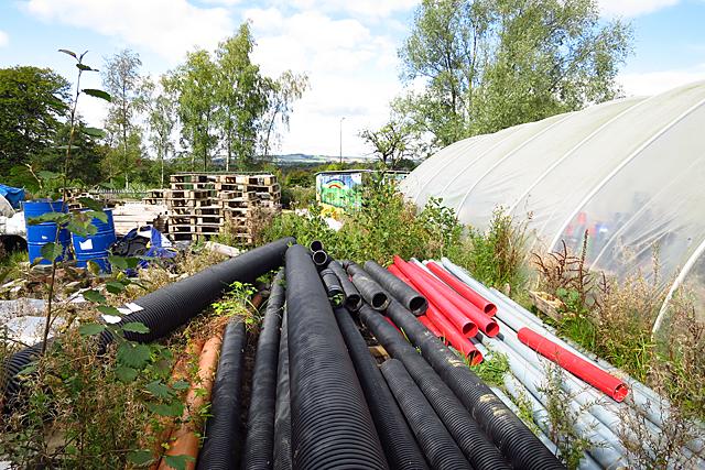 West Calder Community Garden by Anne Burgess