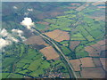 SP8828 : The A4146 between Stoke Hammond and Soulbury by M J Richardson