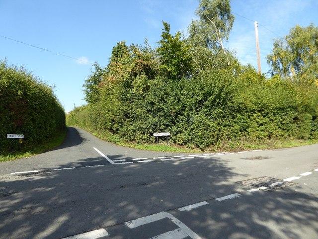 Crossroads in Dodford