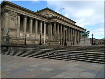 SJ3490 : St Georges hall by Rob Purvis