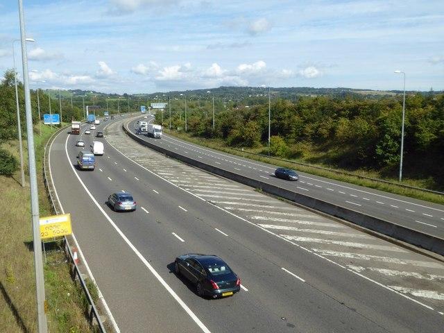 The M5 near Catshill