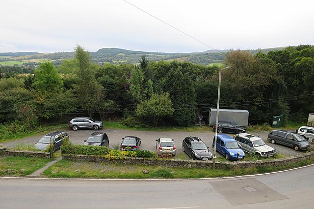Weem Hotel Car Park