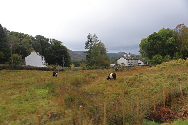 Houses from the Ravenglass & Eskdale Railway