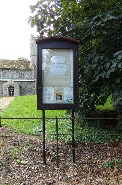 St George's Church Notice Board