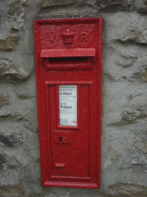 Victorian postbox, Lawkland