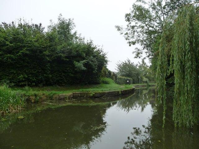 The site of the original Bridge 15, Market Harborough Arm