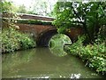 SP7290 : Gallows Hill Bridge [No 8] and a pipe bridge by Christine Johnstone