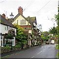 TQ1810 : Bramber: The Castle Inn Hotel by John Sutton