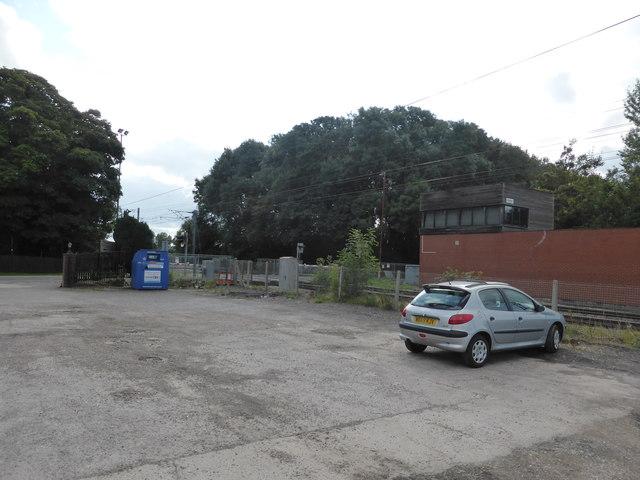 Car park, Great Northern Inn