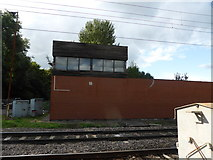 SK7964 : Signal box by Bob Harvey