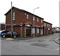 SD5805 : Brick building on the corner of Princess Street and Chapel Street, Wigan by Jaggery
