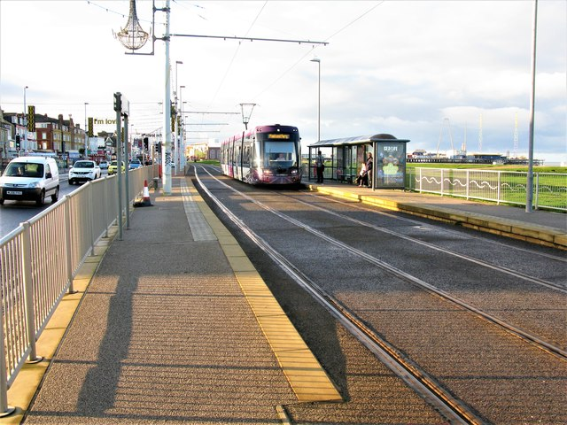Waterloo Road Tram Stop, Blackpool