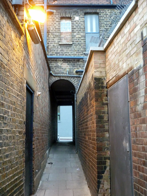Passage from St. Chad's Place to King's Cross Road, WC1