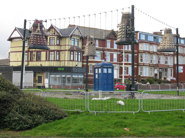 Gynn Square Roundabout (Daleks' Roundabout ?), Blackpool