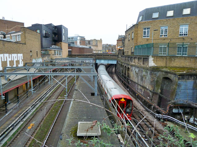 Railway from St. Chad's Place bridge, MCL/26
