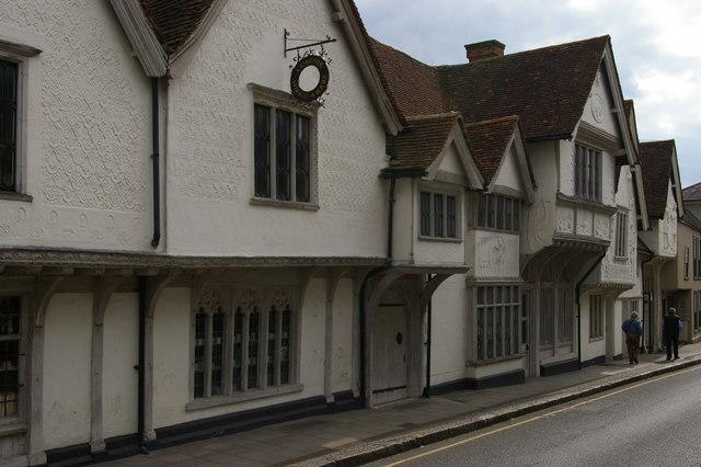 Saffron Walden: Old Sun Inn, Church Street