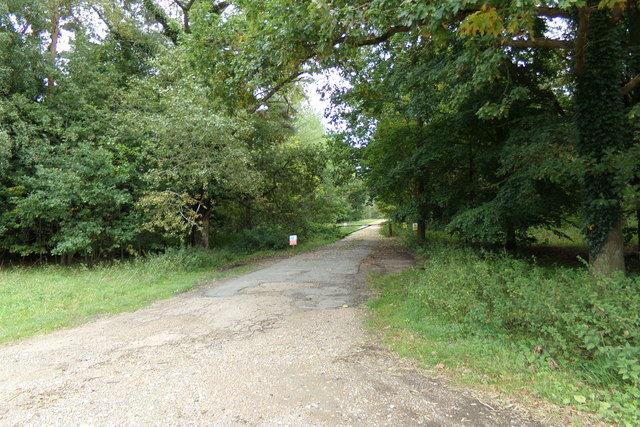 Track off the A1065 Swaffham Road