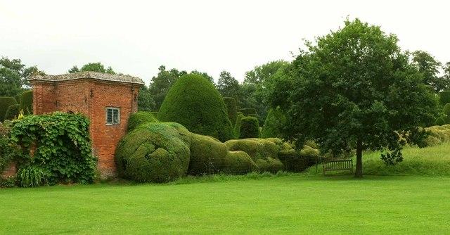 Garden, Packwood House