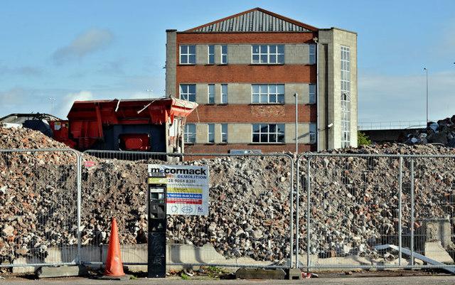 Former social security office, Belfast - September 2017(5)