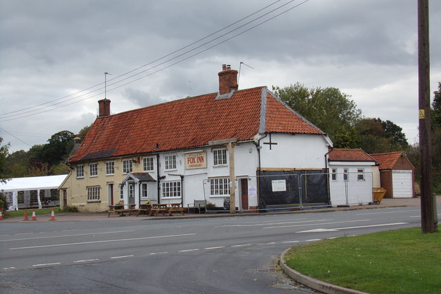 The Fox Inn Public House, Garboldisham