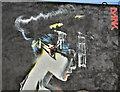 J3374 : Street art, Academy Exchange site, Belfast - September 2017(2) by Albert Bridge