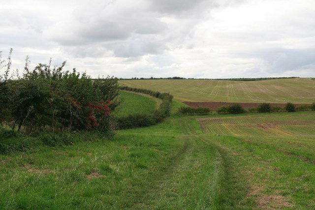Bridleway to Somerby Top