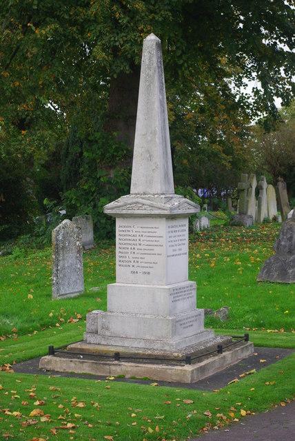 Girton war memorial