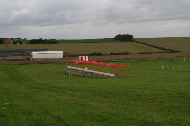 Part of Humberside Airport's landing system