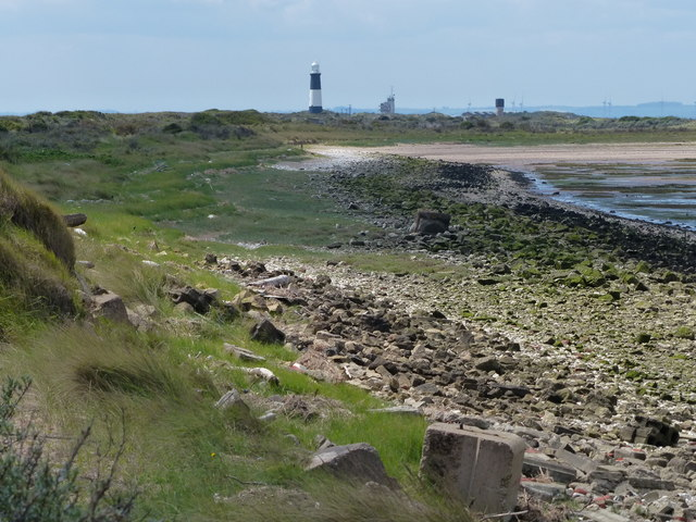 Shoreline along the Spurn Head Spit