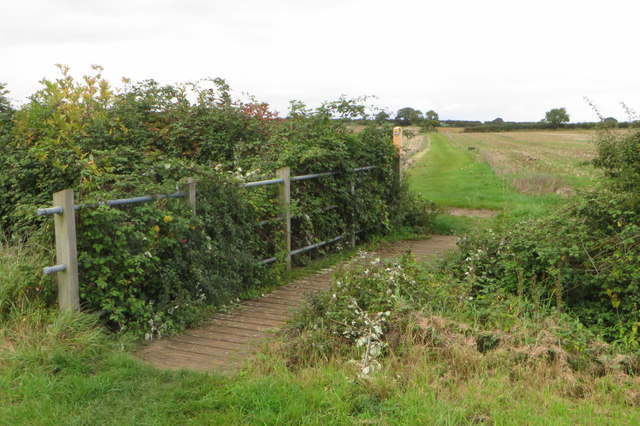 Footbridge on the Ouse Valley Way