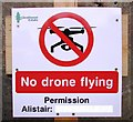 NM9081 : Drones not allowed! by Bill Kasman