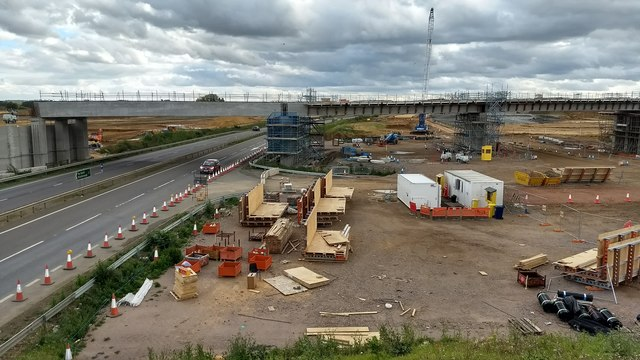 A14- A1 works at Brampton