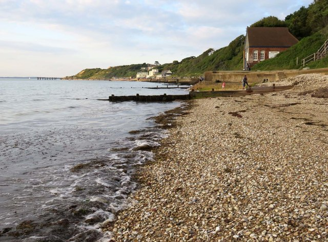 The beach by the Old Lifeboat Station