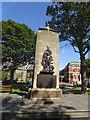 TA1866 : War memorial, Wellington Road, Bridlington by Stephen Craven