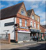TL0506 : Shops at Boxmoor, built in 1899 by Julian Osley